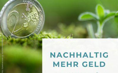 Nachhaltig Geld gespart