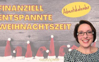 Adventskalender – besonders & sparen – Finanziell entspannte Weihnachtszeit